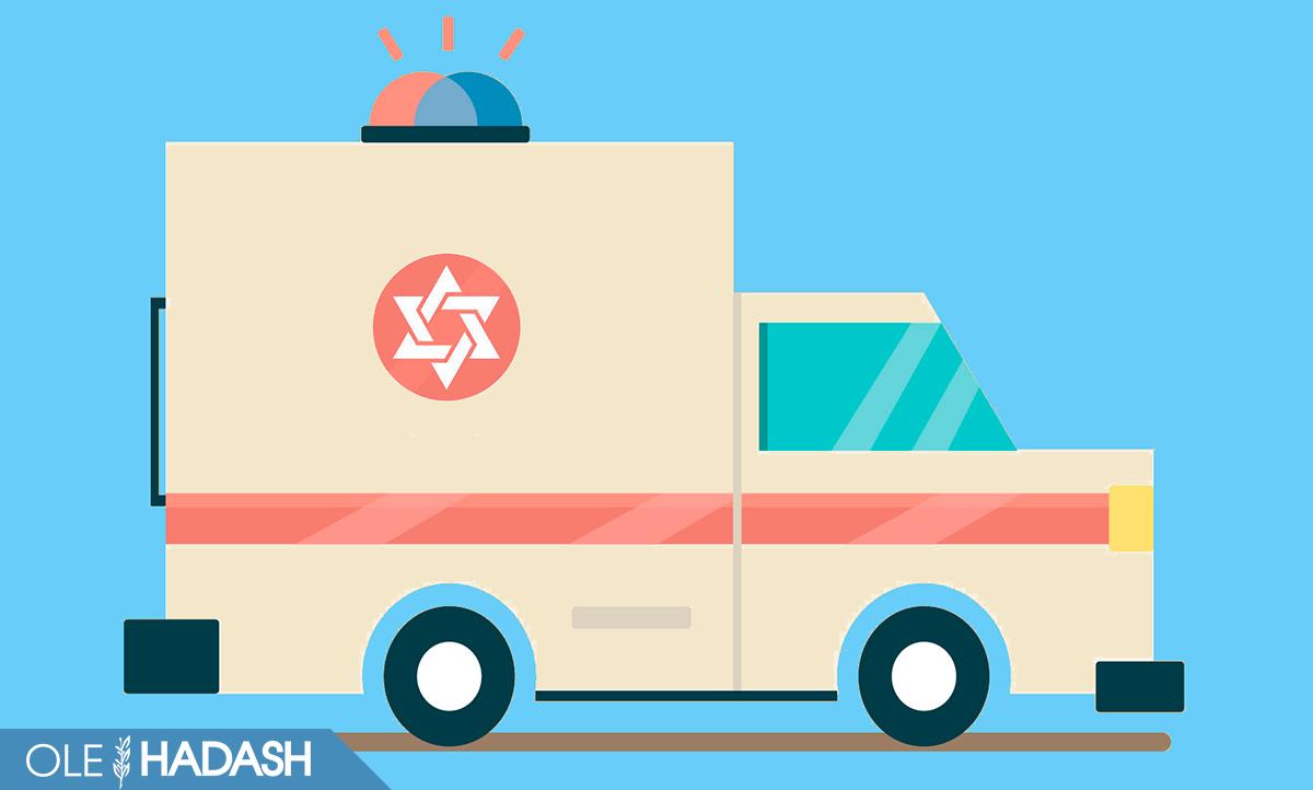 скорая в Израиле
